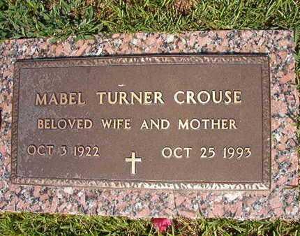 CROUSE, MABEL - Webster County, Louisiana | MABEL CROUSE - Louisiana Gravestone Photos