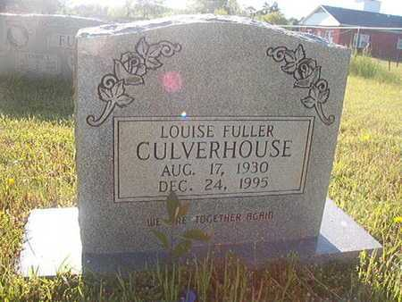 CULVERHOUSE, LOUISE - Webster County, Louisiana | LOUISE CULVERHOUSE - Louisiana Gravestone Photos