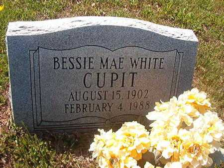 WHITE CUPIT, BESSIE MAE - Webster County, Louisiana | BESSIE MAE WHITE CUPIT - Louisiana Gravestone Photos
