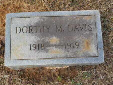 DAVIS, DORTHY M - Webster County, Louisiana   DORTHY M DAVIS - Louisiana Gravestone Photos