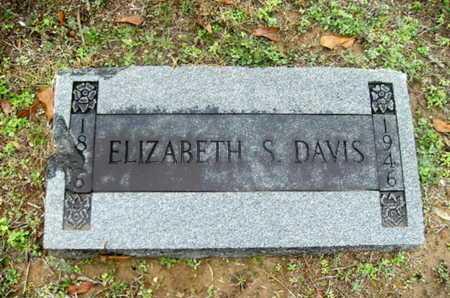 STRANGE DAVIS, ELIZABETH - Webster County, Louisiana   ELIZABETH STRANGE DAVIS - Louisiana Gravestone Photos