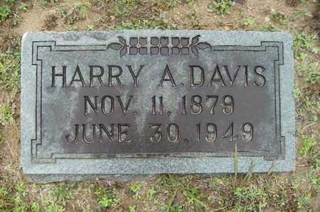 DAVIS, HARRY A - Webster County, Louisiana | HARRY A DAVIS - Louisiana Gravestone Photos