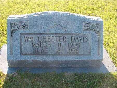 DAVIS, WILLIAM CHESTER - Webster County, Louisiana | WILLIAM CHESTER DAVIS - Louisiana Gravestone Photos