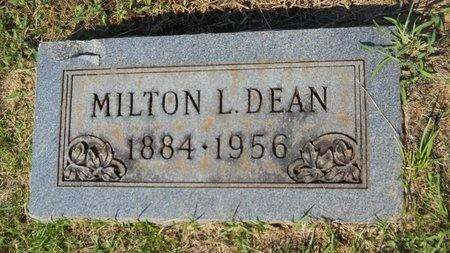 DEAN, MILTON L - Webster County, Louisiana   MILTON L DEAN - Louisiana Gravestone Photos