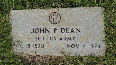DEAN, JOHN P (VETERAN) - Webster County, Louisiana | JOHN P (VETERAN) DEAN - Louisiana Gravestone Photos