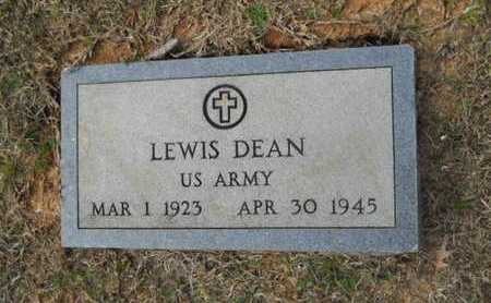 DEAN, LEWIS (VETERAN WWII, DOW) - Webster County, Louisiana | LEWIS (VETERAN WWII, DOW) DEAN - Louisiana Gravestone Photos