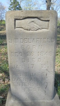 DELAFIELD, J T - Webster County, Louisiana | J T DELAFIELD - Louisiana Gravestone Photos