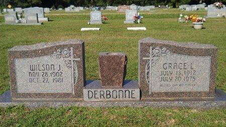 DERBONNE, WILSON J - Webster County, Louisiana | WILSON J DERBONNE - Louisiana Gravestone Photos