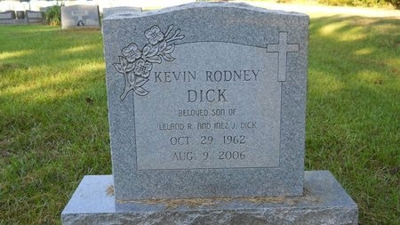 DICK, KEVIN RODNEY - Webster County, Louisiana | KEVIN RODNEY DICK - Louisiana Gravestone Photos