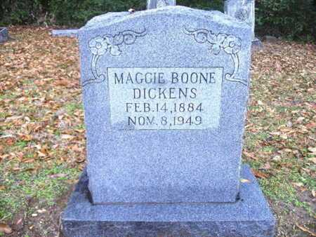 BOONE DICKENS, MAGGIE - Webster County, Louisiana | MAGGIE BOONE DICKENS - Louisiana Gravestone Photos