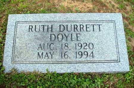DOYLE, RUTH - Webster County, Louisiana | RUTH DOYLE - Louisiana Gravestone Photos