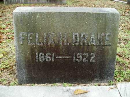 DRAKE, FELIX H - Webster County, Louisiana | FELIX H DRAKE - Louisiana Gravestone Photos