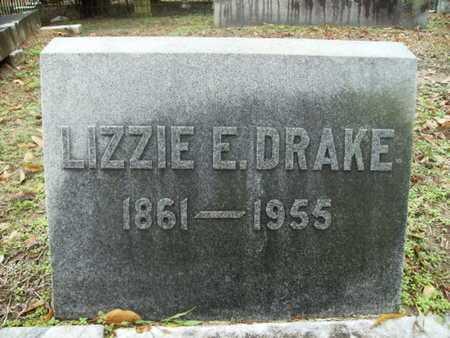 DRAKE, LIZZIE E - Webster County, Louisiana   LIZZIE E DRAKE - Louisiana Gravestone Photos