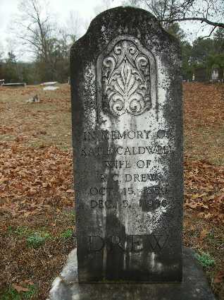CALDWELL DREW, KATIE ROBERTA - Webster County, Louisiana | KATIE ROBERTA CALDWELL DREW - Louisiana Gravestone Photos