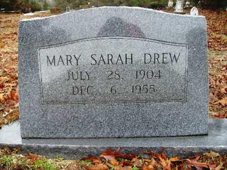 DREW, MARY SARAH - Webster County, Louisiana | MARY SARAH DREW - Louisiana Gravestone Photos