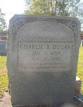 DUGAN, CHARLIE R - Webster County, Louisiana | CHARLIE R DUGAN - Louisiana Gravestone Photos
