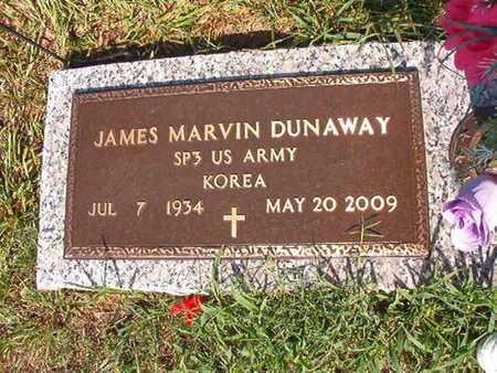 DUNAWAY, JAMES MARVIN (VETERAN KOR) - Webster County, Louisiana | JAMES MARVIN (VETERAN KOR) DUNAWAY - Louisiana Gravestone Photos