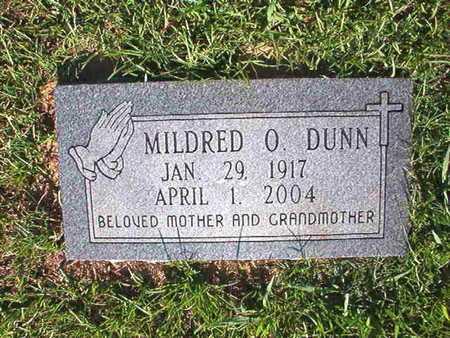 DUNN, MILDRED O - Webster County, Louisiana | MILDRED O DUNN - Louisiana Gravestone Photos