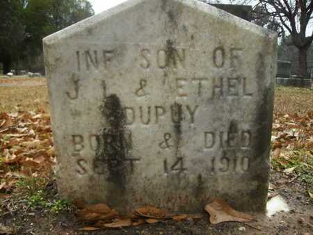 DUPUY, INFANT SON - Webster County, Louisiana | INFANT SON DUPUY - Louisiana Gravestone Photos