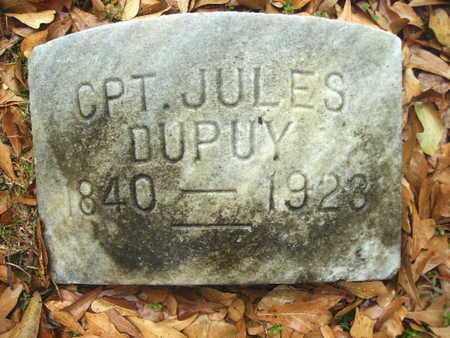 DUPUY, JULES LOUIS (VETERAN CSA) - Webster County, Louisiana | JULES LOUIS (VETERAN CSA) DUPUY - Louisiana Gravestone Photos