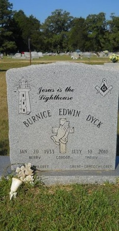 DYCK, BURNICE EDWIN - Webster County, Louisiana   BURNICE EDWIN DYCK - Louisiana Gravestone Photos