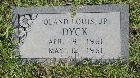 DYCK, OLAND LOUIS, JR - Webster County, Louisiana | OLAND LOUIS, JR DYCK - Louisiana Gravestone Photos