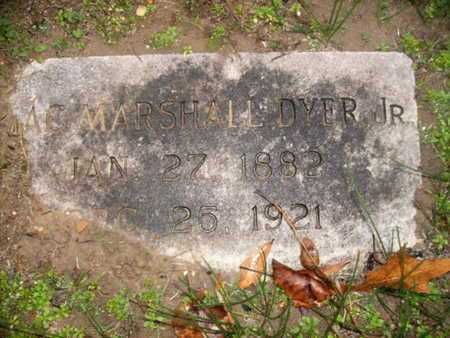 DYER, ISAAC MARSHALL, JR - Webster County, Louisiana | ISAAC MARSHALL, JR DYER - Louisiana Gravestone Photos