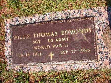 EDMONDS, WILLIS THOMAS (VETERAN WWII) - Webster County, Louisiana | WILLIS THOMAS (VETERAN WWII) EDMONDS - Louisiana Gravestone Photos