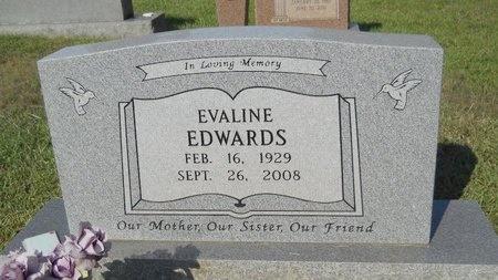 EDWARDS, EVALINE - Webster County, Louisiana | EVALINE EDWARDS - Louisiana Gravestone Photos