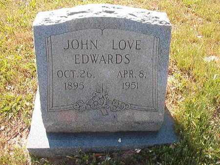 EDWARDS, JOHN LOVE - Webster County, Louisiana   JOHN LOVE EDWARDS - Louisiana Gravestone Photos