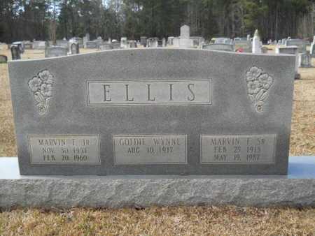 ELLIS, GOLDIE M - Webster County, Louisiana   GOLDIE M ELLIS - Louisiana Gravestone Photos