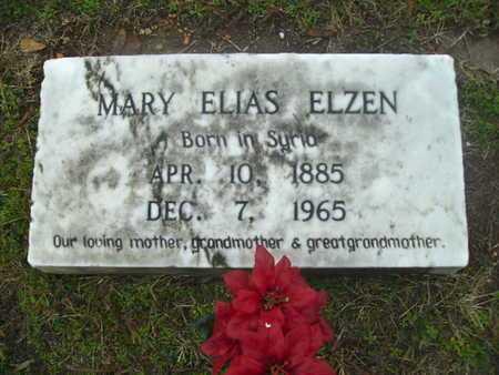 ELZEN ELZEN, MARY - Webster County, Louisiana   MARY ELZEN ELZEN - Louisiana Gravestone Photos
