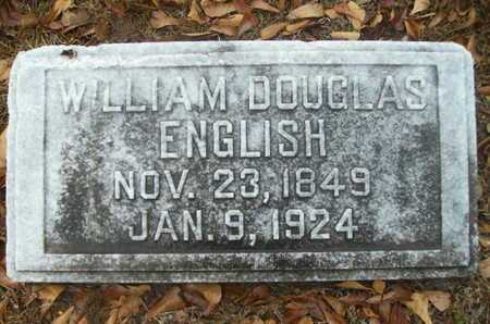 ENGLISH, WILLIAM DOUGLAS - Webster County, Louisiana | WILLIAM DOUGLAS ENGLISH - Louisiana Gravestone Photos