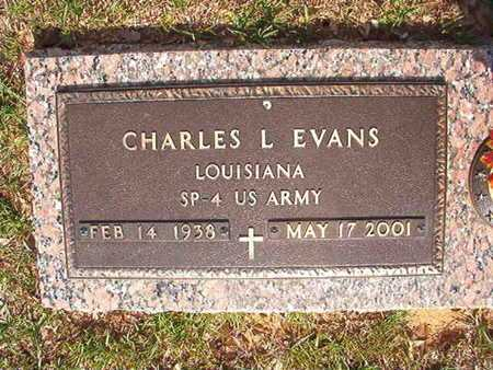 EVANS, CHARLES L (VETERAN) - Webster County, Louisiana | CHARLES L (VETERAN) EVANS - Louisiana Gravestone Photos