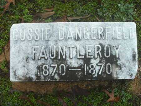 FAUNTLEROY, GUSSIE DANGERFIELD - Webster County, Louisiana | GUSSIE DANGERFIELD FAUNTLEROY - Louisiana Gravestone Photos