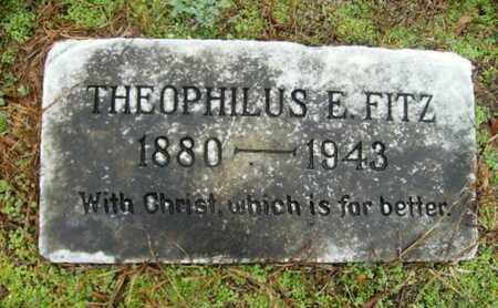FITZ, THEOPHILUS - Webster County, Louisiana   THEOPHILUS FITZ - Louisiana Gravestone Photos