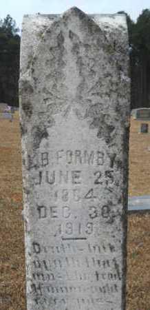 FORMBY, LUCIUS B - Webster County, Louisiana | LUCIUS B FORMBY - Louisiana Gravestone Photos
