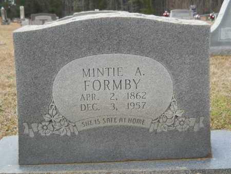FORMBY, MINTIE - Webster County, Louisiana | MINTIE FORMBY - Louisiana Gravestone Photos