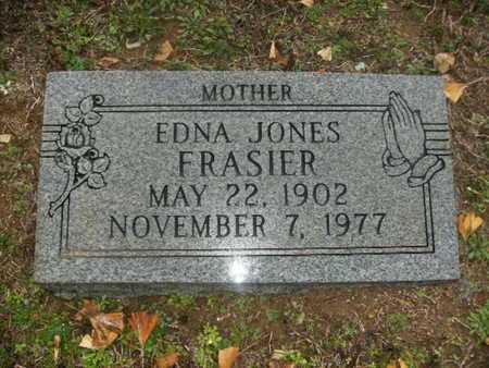 JONES FRASIER, EDNA - Webster County, Louisiana   EDNA JONES FRASIER - Louisiana Gravestone Photos