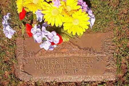FRAZIER, J WALTER, SR - Webster County, Louisiana   J WALTER, SR FRAZIER - Louisiana Gravestone Photos