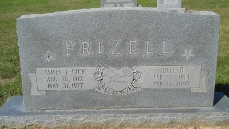 FRIZZELL, IDELL D - Webster County, Louisiana | IDELL D FRIZZELL - Louisiana Gravestone Photos