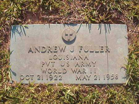 FULLER, ANDREW J (VETERAN WWII) - Webster County, Louisiana | ANDREW J (VETERAN WWII) FULLER - Louisiana Gravestone Photos