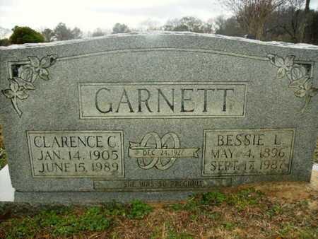 GARNETT, BESSIE L - Webster County, Louisiana | BESSIE L GARNETT - Louisiana Gravestone Photos