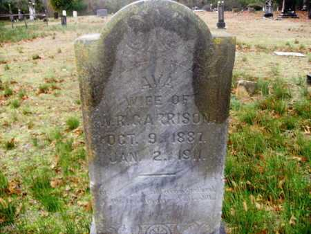 GARRISON, AVA - Webster County, Louisiana | AVA GARRISON - Louisiana Gravestone Photos