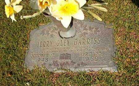 GARRISS, TERRY GLEN - Webster County, Louisiana   TERRY GLEN GARRISS - Louisiana Gravestone Photos