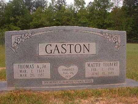 GASTON, THOMAS A, JR - Webster County, Louisiana | THOMAS A, JR GASTON - Louisiana Gravestone Photos