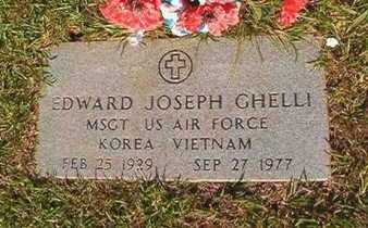 GHELLI, EDWARD JOSEPH (VETERAN 2 WARS) - Webster County, Louisiana | EDWARD JOSEPH (VETERAN 2 WARS) GHELLI - Louisiana Gravestone Photos