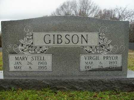 STELL GIBSON, MARY - Webster County, Louisiana | MARY STELL GIBSON - Louisiana Gravestone Photos