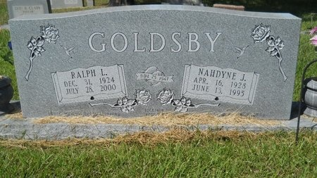GOLDSBY, RALPH L - Webster County, Louisiana   RALPH L GOLDSBY - Louisiana Gravestone Photos