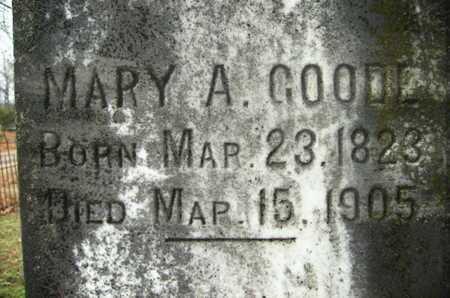 GOODE, MARY A - Webster County, Louisiana | MARY A GOODE - Louisiana Gravestone Photos